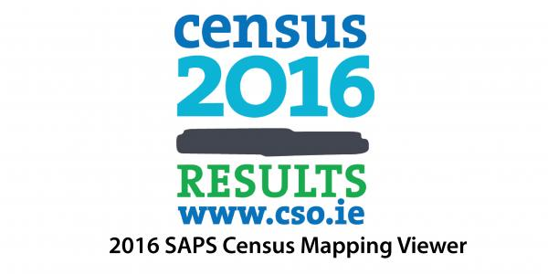 Roi Census 2016 Saps Mapping Viewer All Island Research Observatory